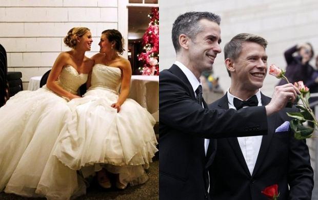 140 Par Gejów I Lesbijek Wzięło ślub