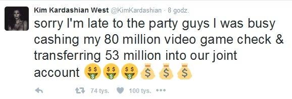 Kim Kardashian odpowiada hejterom