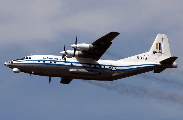 W Mjanmie zaginął samolot przewożący ponad 100 osób