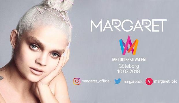 """Margaret wystąpiła w półfinale """"Melodifestivalen 2018"""". Jest to jeden z najpopularniejszych festiwali muzycznych w Szwecji, który jednocześnie stanowi przepustkę do reprezentacji Szwedów podczas tegorocznego Konkursu Piosenki Eurowizji w Lizbonie. Nie udało jej się jednak zdobyć żadnego z dwóch pierwszych miejsc. Znalazła się jednak w czołowej czwórce i już za 3 tygodnie zmierzy się z innymi półfinalistami podczas koncertu drugiej szansy."""