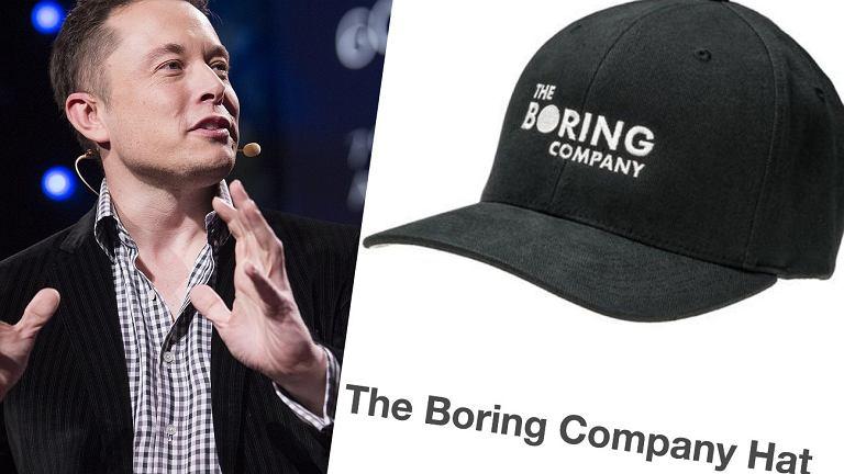 Elon Musk złożył zaskakującą deklarację dotyczącą czapki Boring Company