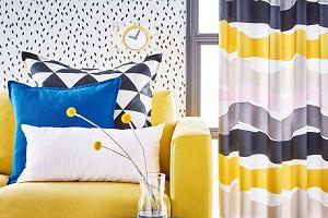 Kolorowe tekstylia - szybki i prosty sposób na metamorfozę wnętrza