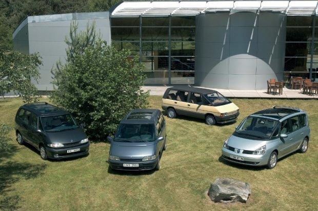Renault Espace - wszystkie generacje