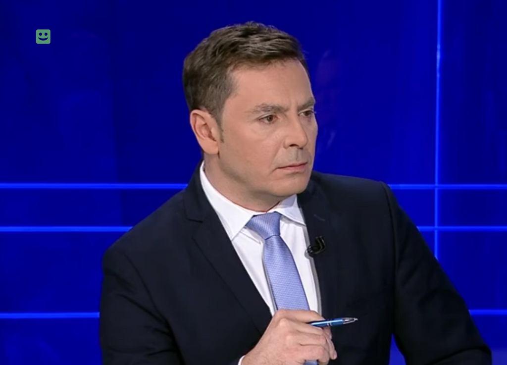 Michał Adamczyk prowadził rozmowę z wicepremierem