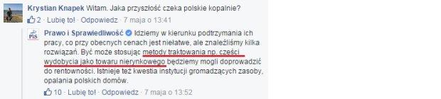Jarosław Kaczyński o polskich kopalniach