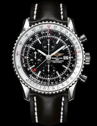 Hit: zegarki dla pilot�w, moda m�ska, zegarki, Breitling Navitimer World. Cena: od 23 290 z�