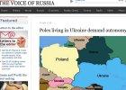 """""""G�os Rosji"""": Polacy szykuj� rozbi�r Ukrainy. ��daj� referendum w �ytomierzu"""