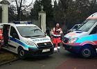 Wypadek przed ambasad� Rosji. Pi�� os�b rannych, w tym policjantka
