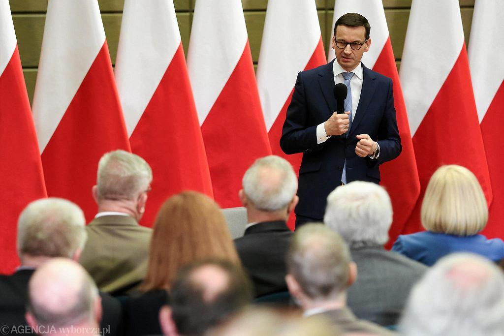 Premier Mateusz Morawiecki w Krakowie