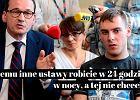 Zadał premierowi pytanie, które ciśnie się na usta protestującym. Opiekunowie nie odpuszczają