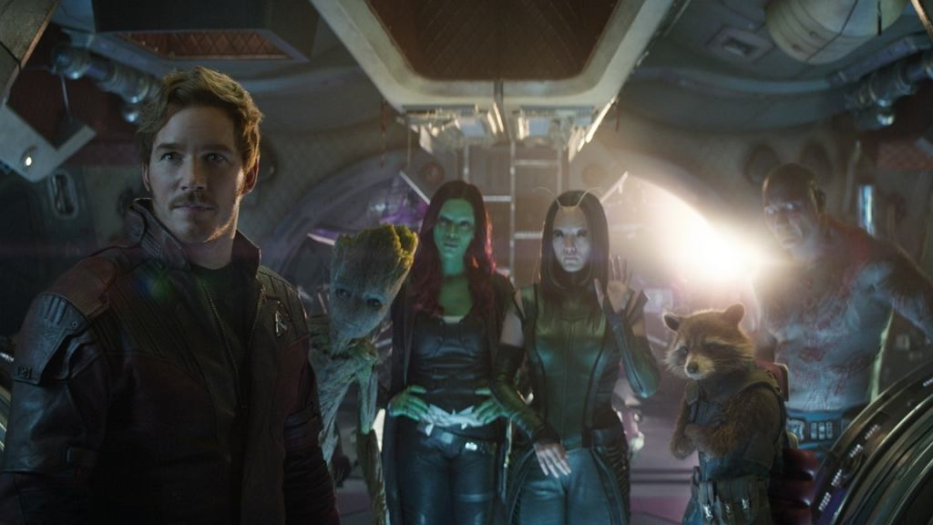 Kadr z filmu 'Avengers: Wojna bez granic' / Disney Polska