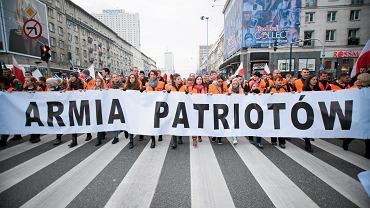 Zeszłoroczny Marsz Niepodległości w Warszawie