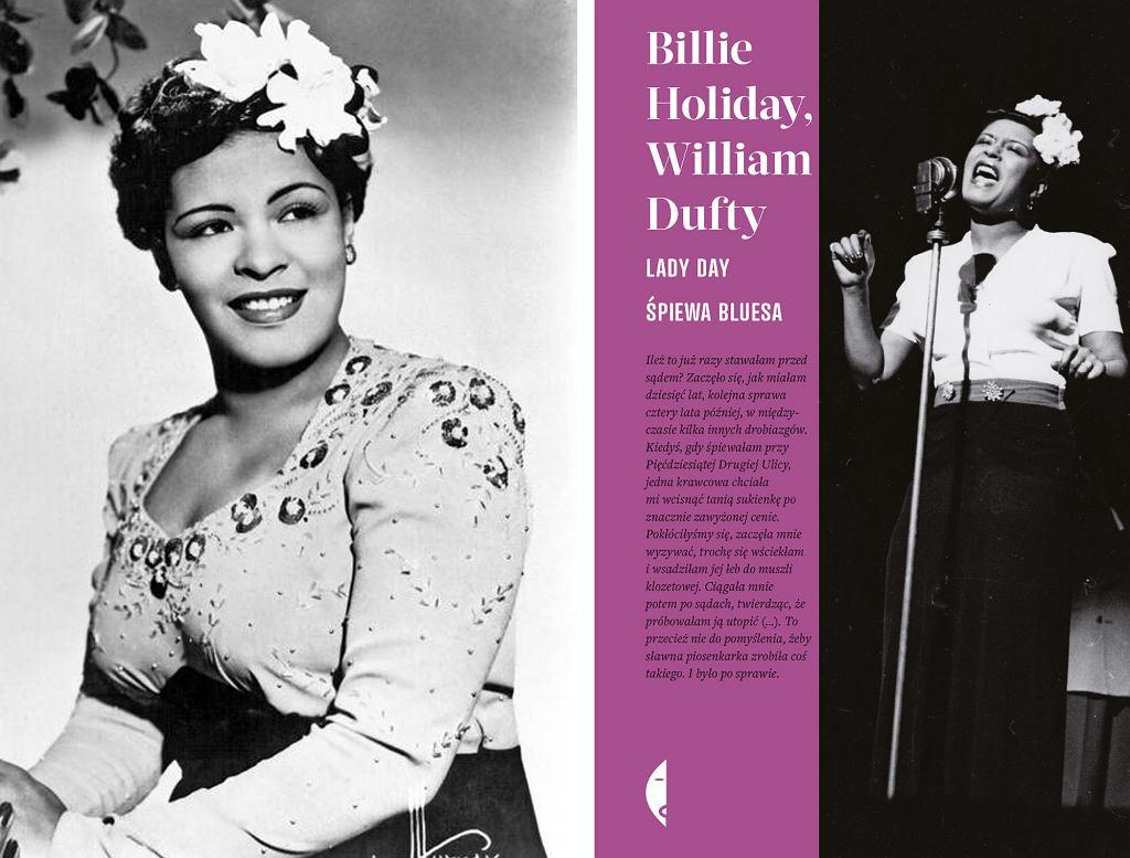 Książka ''Lady Day śpiewa bluesa'' ukazała się 11 stycznia 2017 r. nakładem Wydawnictwa Czarne (fot. Wikimedia.org / Domena publiczna / materiały prasowe)