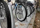 Konstancin te� z wypo�yczalni� rower�w, sp�jn� z Veturilo