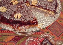 Ciasto jesienne �liwkowo-orzechowe - ugotuj