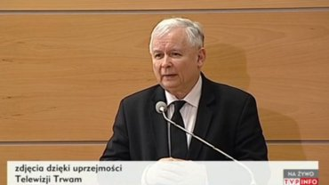 Jarosław Kaczyński u ojca Tadeusza Rydzyka opowiada o manipulacjach