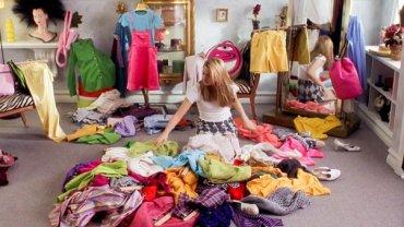 Garderoba, organizacja szafy