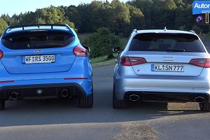 Ford Focus RS vs Audi RS3 | Kt�ry ma lepszy wydech?
