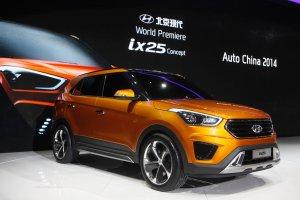 Salon Pekin 2014   Hyundai ix25 Concept