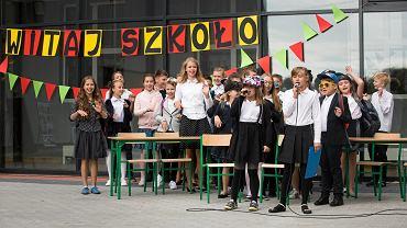 Rozpoczęcie roku 2017, Szkoła Podstawowa nr 4 w Poznaniu