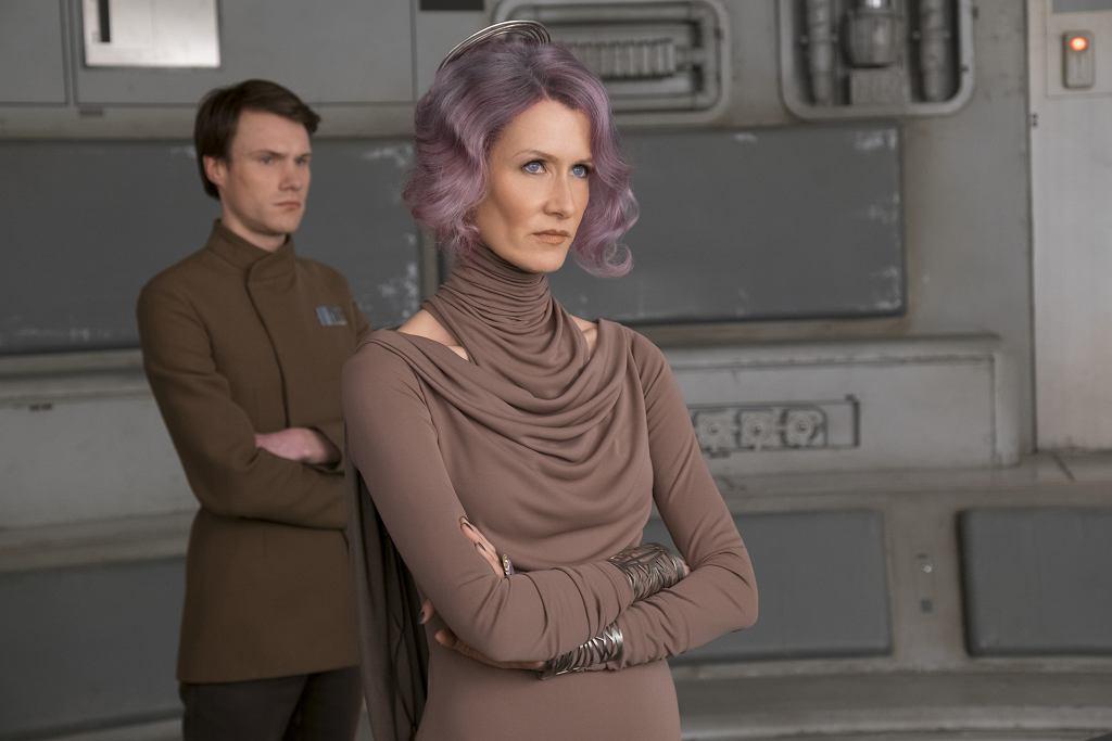 'Gwiezdne wojny: Ostatni Jedi': Laura Dern w roli wiceadmirał Holdo / David James / AP