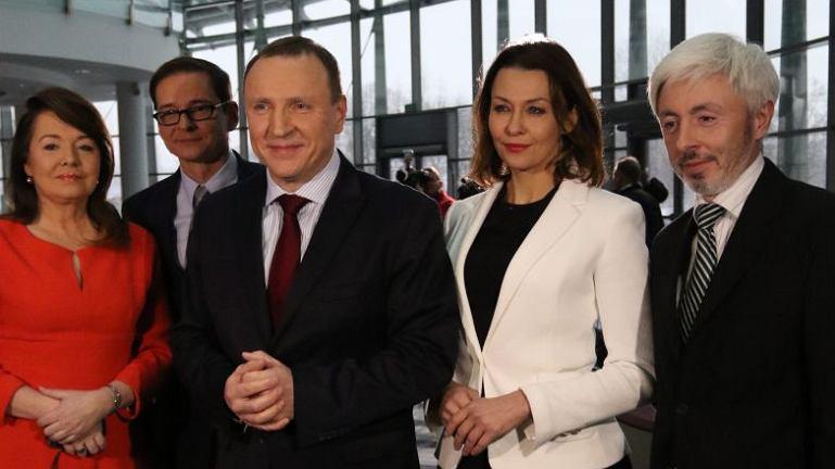 Anna Popek w drużynie Jacka Kurskiego