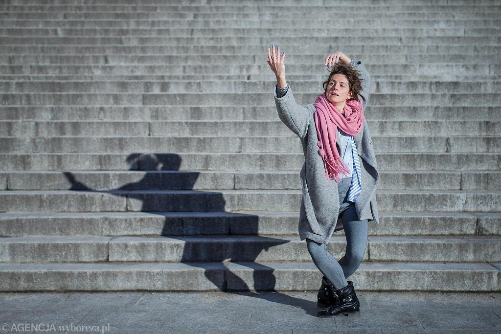 Natalia Iwaniec, tancerka i pedagog, certyfikowana instruktorka metody GaGa / ROMAN ROGALSKI