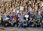 Przeciw zamykaniu i niszczeniu Puszczy Białowieskiej. Spacer obywatelski