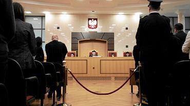 Prezes Trybunału Konstytucyjnego Andrzej Rzepliński ogłasza wyrok ws. kontroli konstytucyjności ustawy o Trybunale z dn. 22 grudnia 2015 r.
