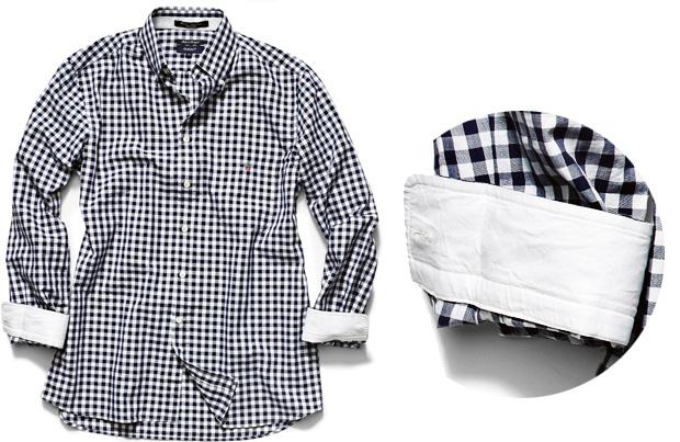 Koszule męskie: moda w kratkę, moda męska, koszule męskie, Koszula w kratkę Gant bawełna, Gant