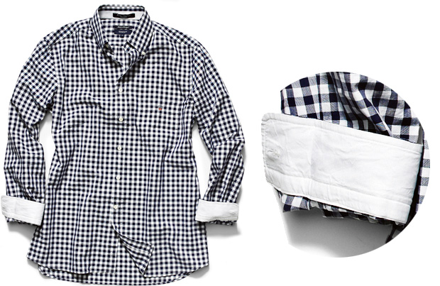 Koszule m�skie: moda w kratk�, moda m�ska, koszule m�skie, Koszula w kratk� Gant bawe�na, Gant