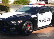 Kalifornijska policja z radiowozem-potworem