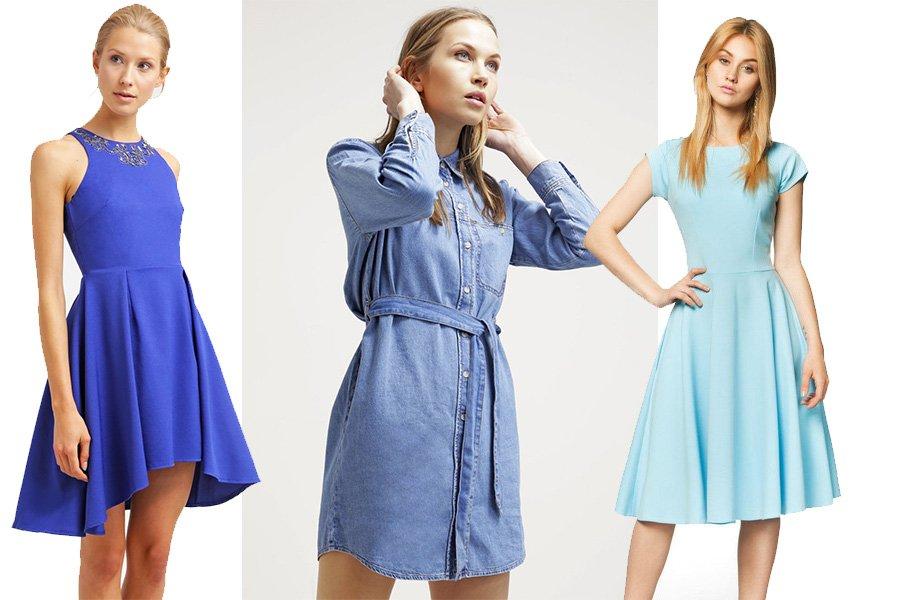 657a1e4f84 Sukienki w odcieniach niebieskiego - przegląd najmodniejszych fasonów