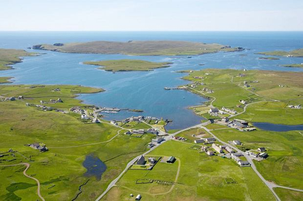 Wyspa Linga w Szkocji