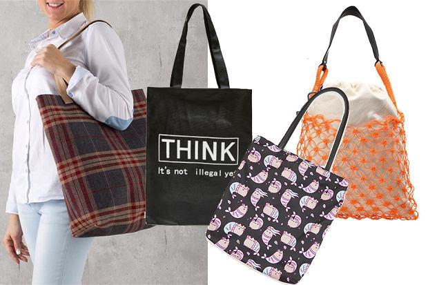 Płócienne torby zakupowe
