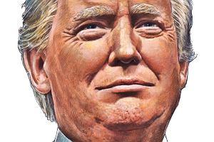 Donald Trump. Swój chłop