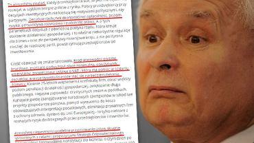BCC, Krajowa Izba Gospodarcza, Konfederacja Lewiatan i Pracodawcy RP odpowiadają Jarosławowi Kaczyńskiemu