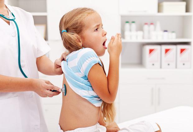 Zapalenie oskrzeli u dzieci - objawy, diagnoza, leczenie