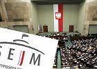 """Stare logo """"przypomina�o �limaka"""", wi�c Sejm po czterech latach zam�wi� nowe. Kosztowa�o 50 tys. z�"""