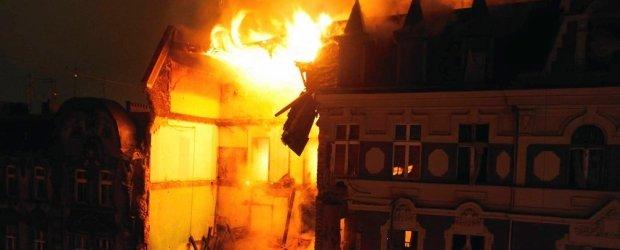 Wybuch w kamienicy w centrum Katowic. Z pi�cioma osobami nie ma kontaktu