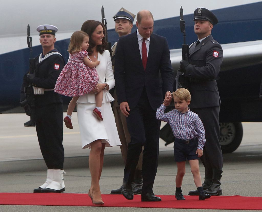 Wizyta pary książęcej