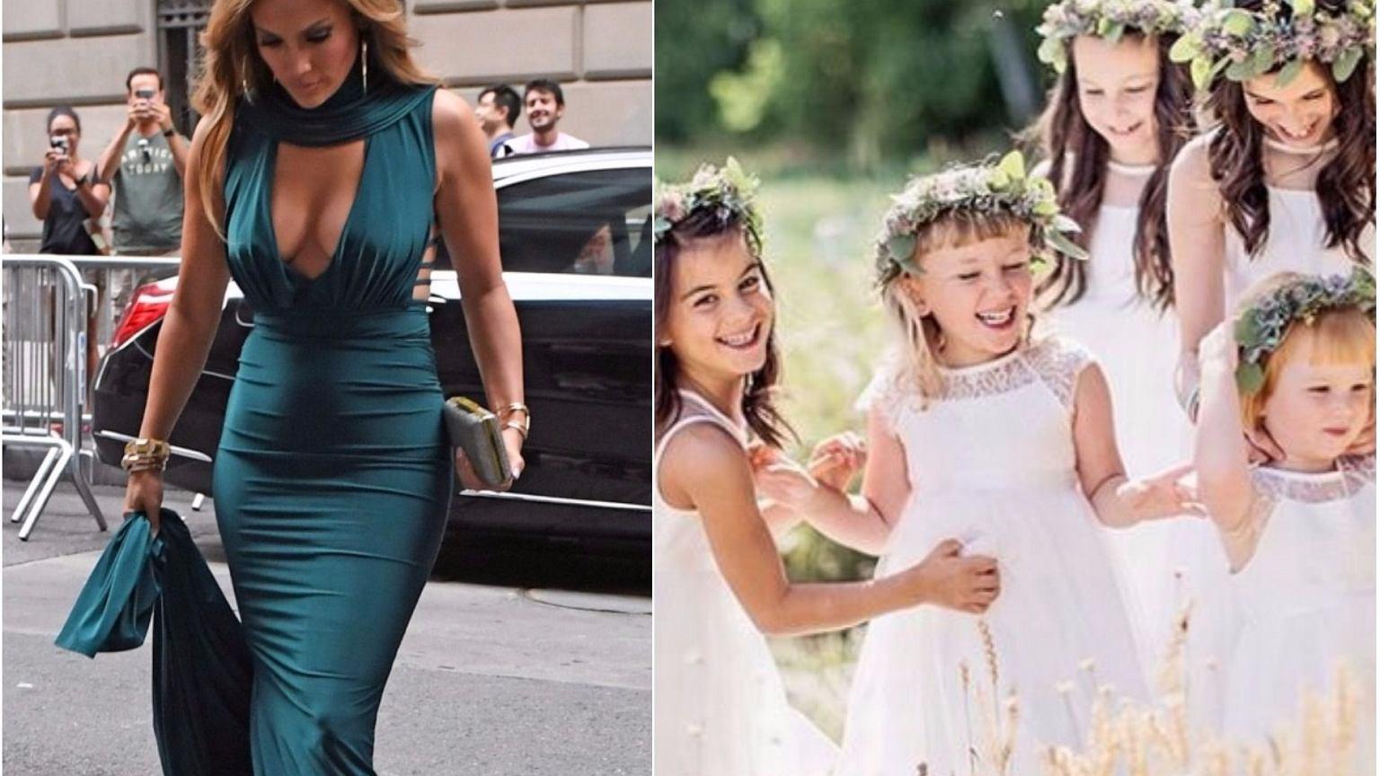 c075d1ce44 Jak ubrać się na ślub  Mamy dla Was najpiękniejsze suknie z internetu i...  stroje dla dzieci