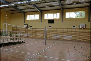Sala gimnastyczna w Zespole Szkół gotowa po przebudowie. I to przed czasem
