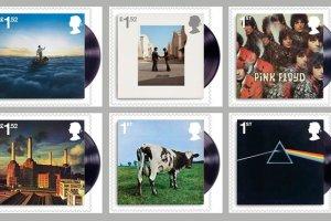 Płyty Pink Floyd na znaczkach pocztowych. Jakie polskie okładki im dorównują?