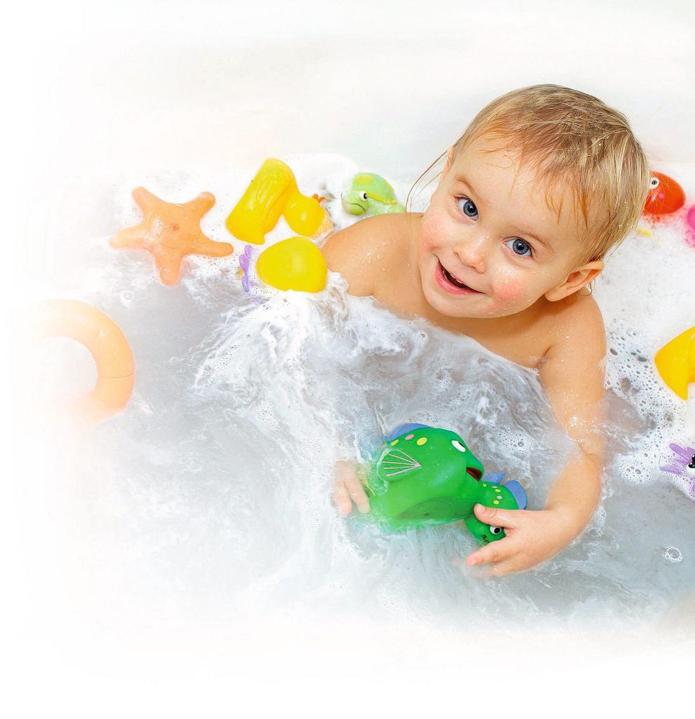 Nigdy nie zostawiaj dziecka samego w wannie! Pamiętaj także, aby wyłączyć z kontaktu suszarke czy elektryczną szczoteczkę do zębów!