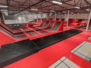 park trampolin. Black Bedroom Furniture Sets. Home Design Ideas