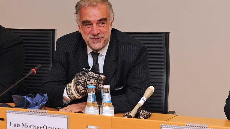 Luis Moreno-Ocampo, były główny prokurator Międzynarodowego Trybunału Karnego