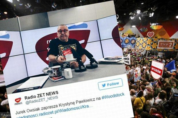 Jurek Owsiak odpowiada na krytyk� WO�P.