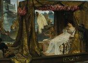 Znani m�czy�ni, którzy oszaleli z mi�o�ci, dziewczyny, top 10, Marek Antoniusz (83 p.n.e.- 30 p.n.e.), Autor obrazu: Lawrence Alma-Tadema. Tytu�: Antoniusz i Kleopatra. Olej, 1885 r. �ród�o: Wikimedia Commons: zdj�cie jest w�asno�ci� publiczn�, poniewa� prawa autorskie do niego wygas�y., mi�o��