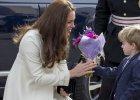 To żadna nudna uroczystość! Ciężarna księżna Kate pojechała na plan ulubionego serialu. A tam...